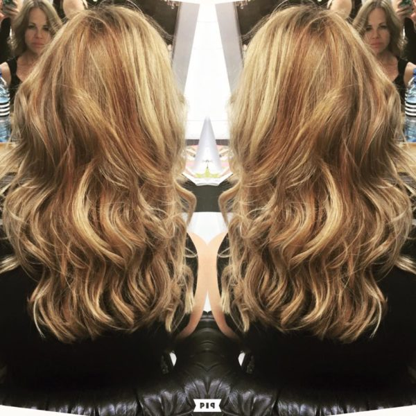 Hair balayage for women