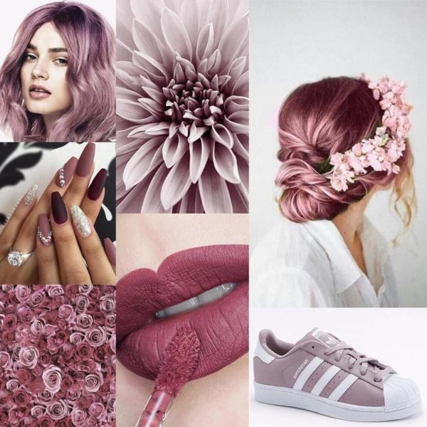 Rose pink hair colours for women