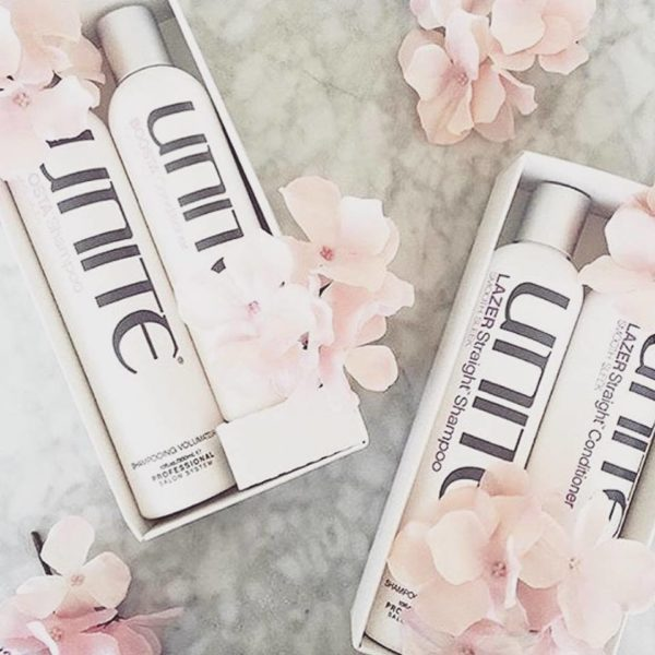 Unite lazer straight shampoo and conditioner