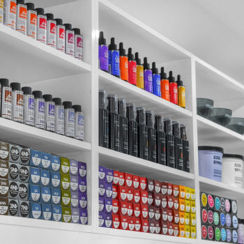 Hair colours and treatment products