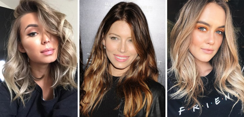 Hair balayage, ombré, colour melts, baby lights for women