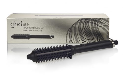 Black GHD rise hot brush